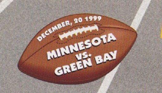 THREE 1999 Minnesota Vikings Green Bay Packers Monday Football Sports USPS FDC #DoesNotApply #GreenBayPackers