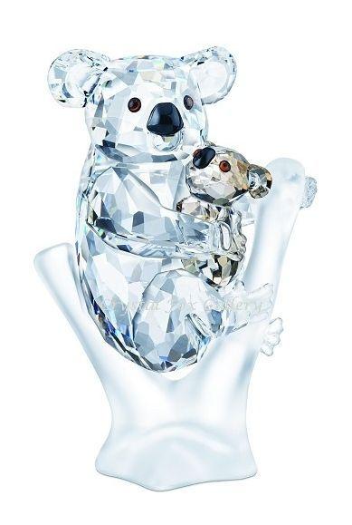 Swarovski Koala Bears.  Swarovski Crystal Figurine.