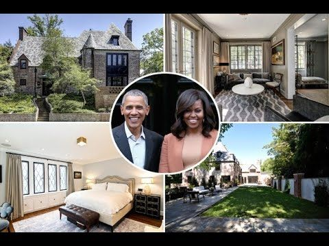 Barack Obama's House Tour 2017 | Where Obama Family Live After Leaving T...