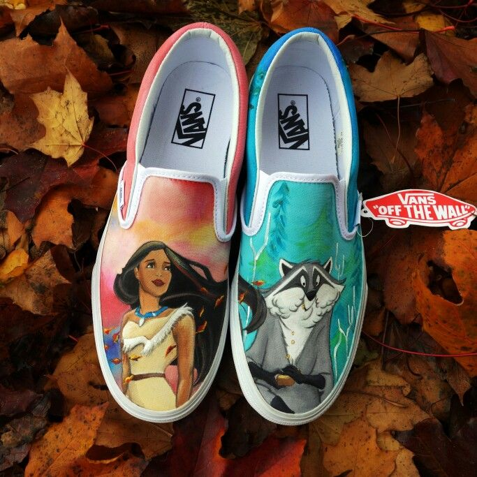 Pocahontas Slipon Vans   www.CestlaVic.com