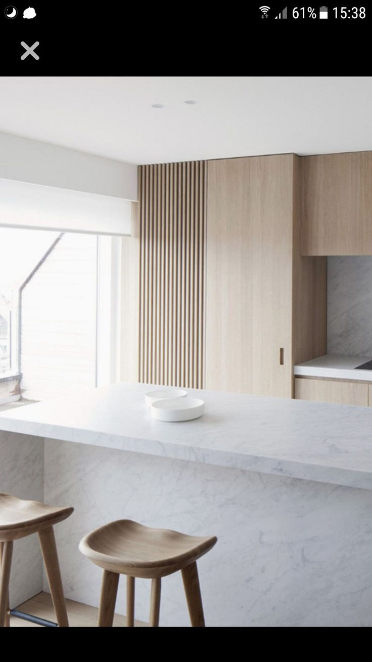 Kitchen // minimal // blonde