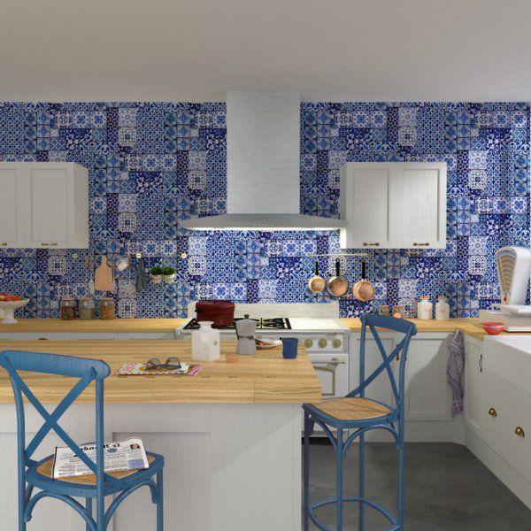 Azur et azulejos