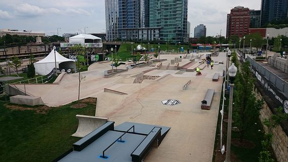 Image result for skateparks in downtown chicago