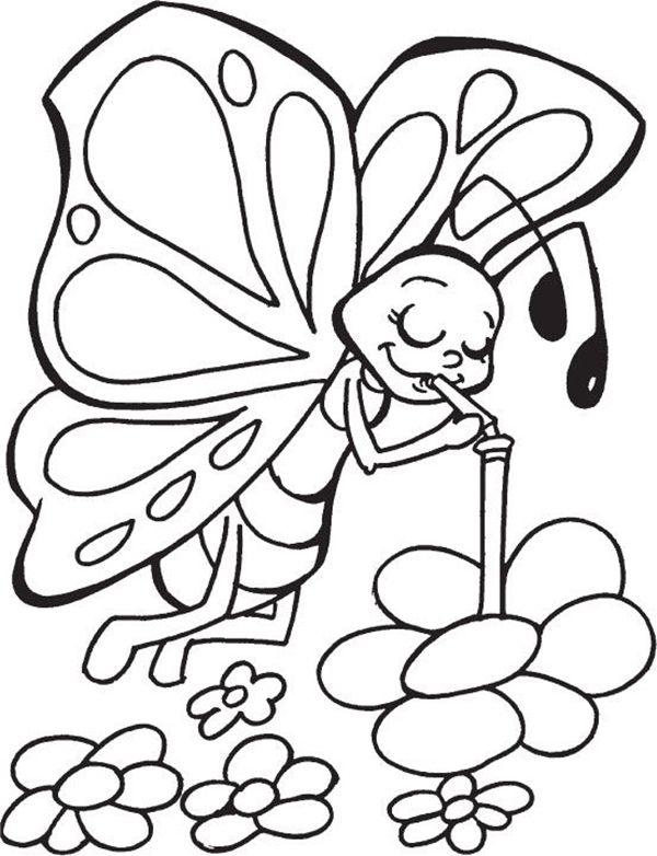 45 Free Printable Coloring Pages To Download Buzz 2018 Butterfly Coloring Page Insect Coloring Pages Coloring Pages For Kids