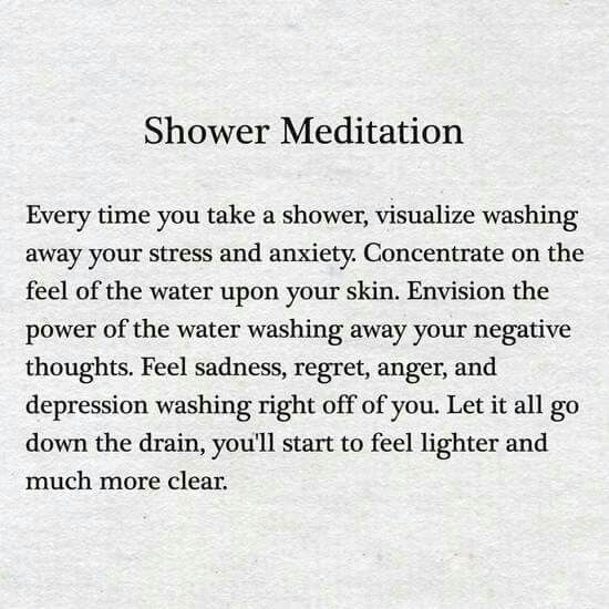 Best 25 fresh start ideas on pinterest positive morning for Spiritual shower