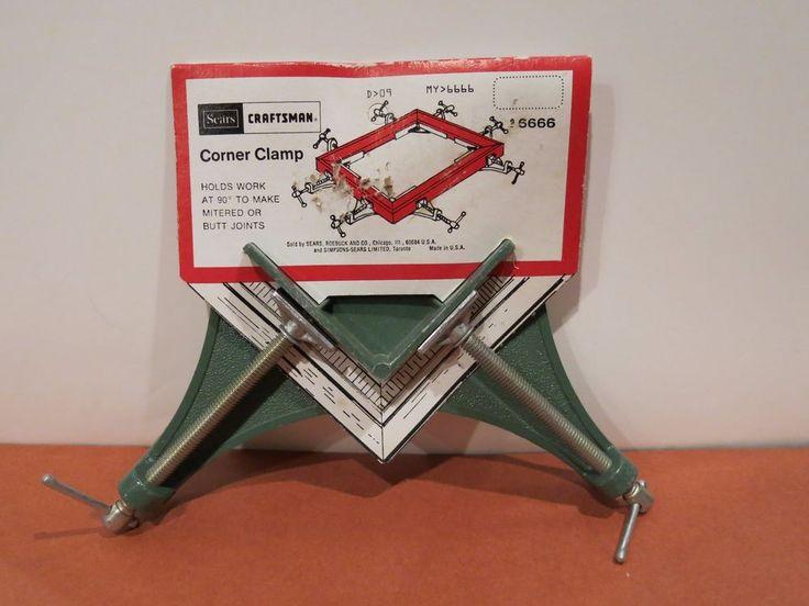 Sears Craftsman Corner Miter Vise Clamps 9-6666 NEW Vintage