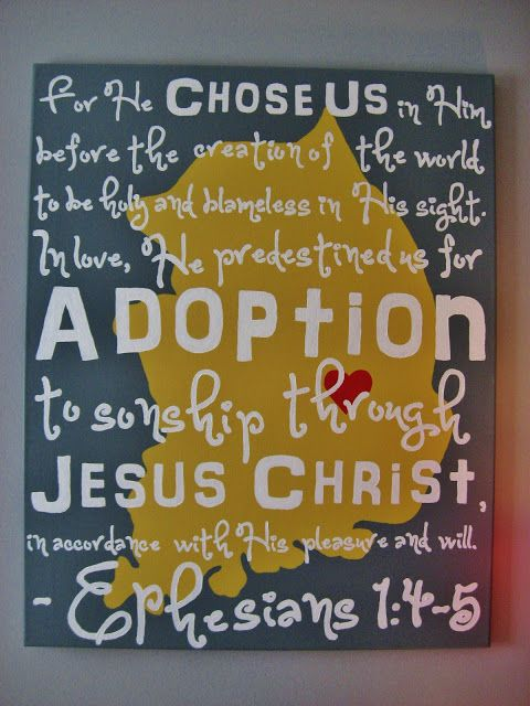 Love this! Adoption is such a blessing. It's a shame that not everyone sees that. I would consider myself lucky to raise someone and make them a wonderful person, despite whether I carried them in my womb.