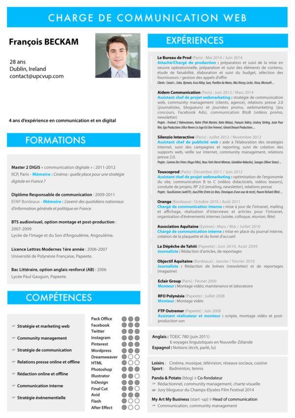 Cv Assistant Chef De Projet Modele Cv Sur Mesure Moderne Upcvup Modele Cv Cv Assistante Commerciale Assistante