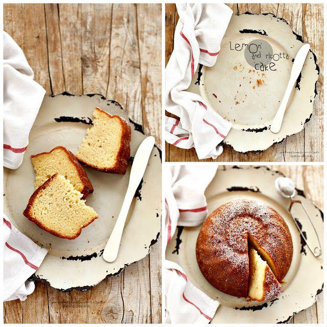 Торт с рикоттой и лимонной - лимоном и рикоттой Торт