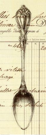 Spoon Document Print