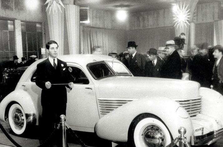Unveiling the 1936 Cord automobile