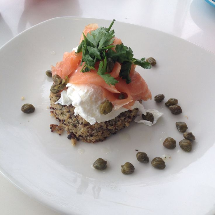 Fancy a dish with a view | head to Charlton Pool restaurant | I tried the quinoa mushroom cake w. Poached egg & cured salmon | After breakfast take a swim , best pool in Sydney besides Icebergs