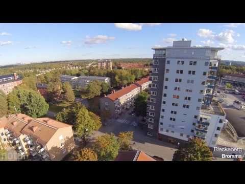 Områdesfilm över Bromma