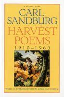 Harvest poems : 1910-1960