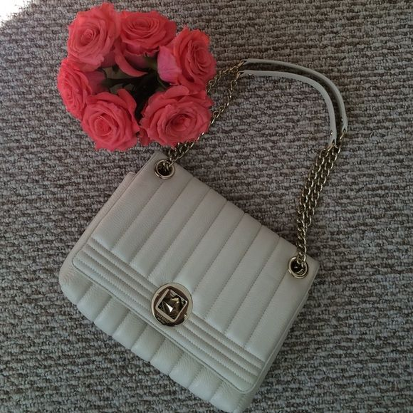 Kate Spade Gold Coast Evangeline purse Beautiful off white Kate Spade purse! It was purchased in June 2015. kate spade Bags