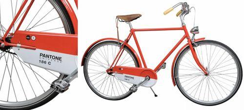 pantone cherry-red 186C bike!