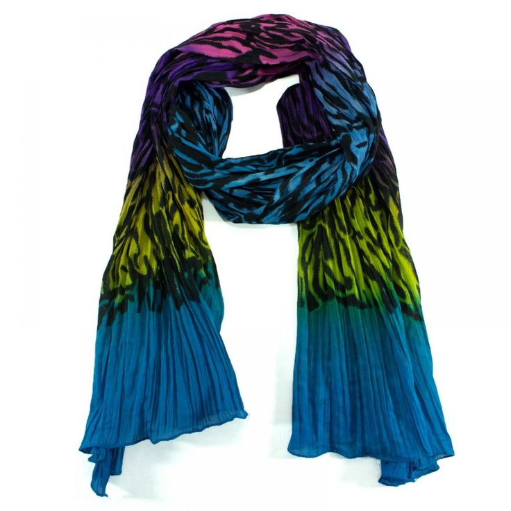 Multi Color Cotton Scarf  Buy Now@ http://www.pashmeen.com/digital-prints/39-multi-color-cotton-scarf.html