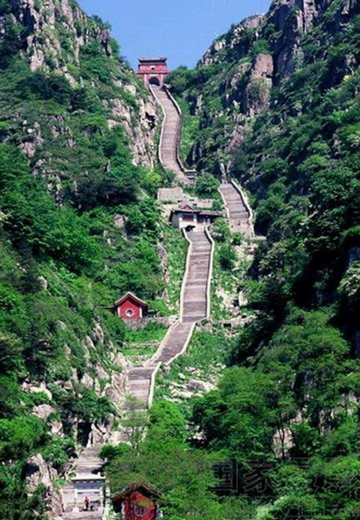 UNESCO World Heritage Site:  Mount Taishn - CHINA