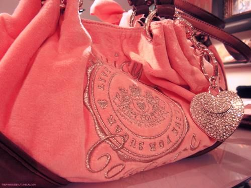 I love Juicy bags! (especially pink)