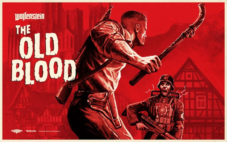 High Quality Wolfenstein: The Old Blood wallpaper, Croydon Kingsman 2016-11-11