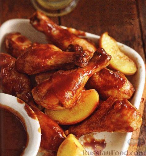 Сочные куриные крылышки - 50 рецептов