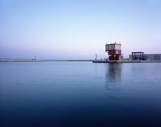 Contemporary Architecture in Sicily -The watchtower - Port of Marina di Ragusa, Sicily. 2011. Architect Maria Giuseppina Grasso Cannizzo