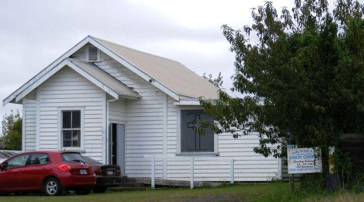 Okaihau Union Church New Zealand