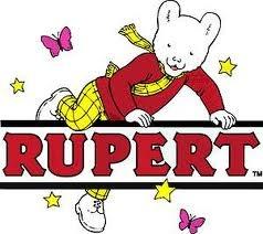 Rupert the Bear was Everywhere!