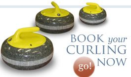 Naseby curling rink 1.5 hours drive west of Cromwell open all year round