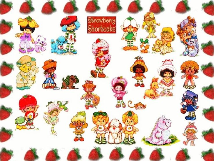 Strawberry Shortcake Characters Pets | strawberry ...
