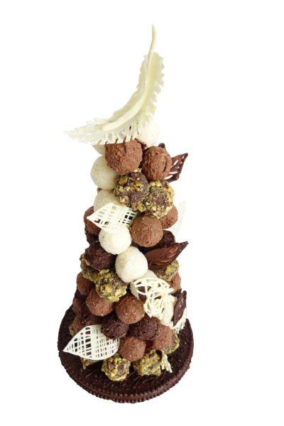 Chocolate Truffle Croquembouche  - Le Cordon Bleu