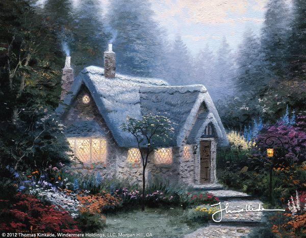 Cedar Nook Cottage by Thomas Kinkade