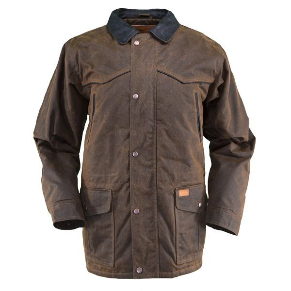The Pathfinder Jacket is a fantastic take on traditional western style coats.  With waterproof oilskin