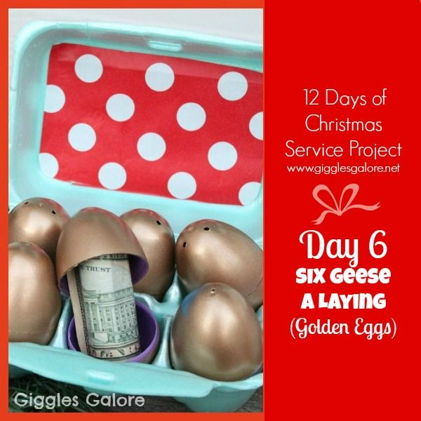 Giggles Galore 12 Days of Christmas Service Project Day 6