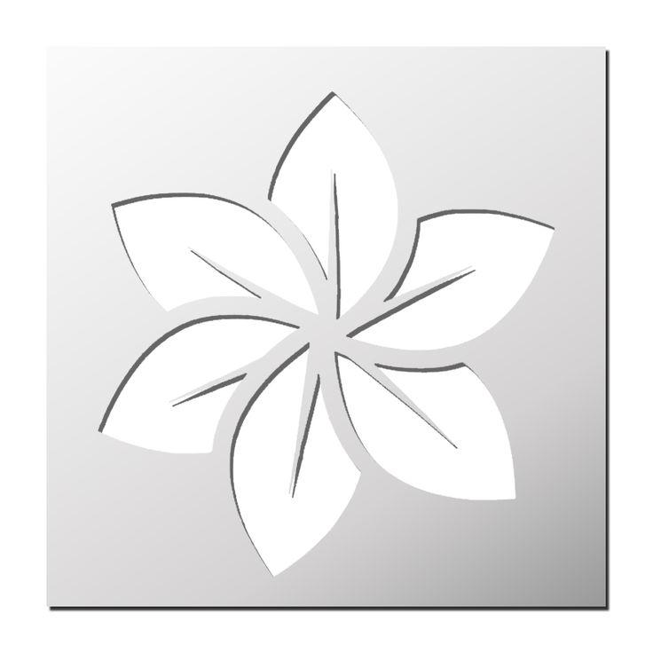 Pochoir Fleur