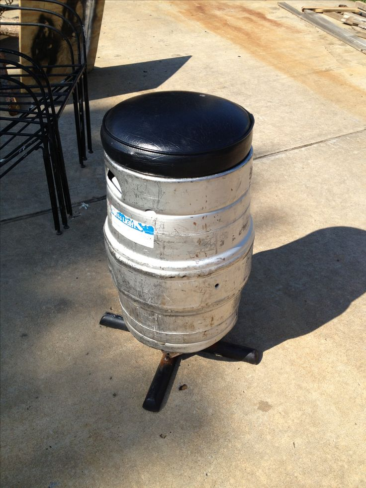 This Coors Light Keg Bar Stool Will Look Great In Any