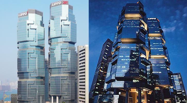 Липпо-центр (Lippo Centre) – #Китай #Гонконг (#CN) Благодаря своему футуристическому дизайну, башни-близнецы пользуются большой популярностью, как у жителей Гонконга, так и у туристов. http://ru.esosedi.org/CN/places/1000118762/lippo_tsentr_lippo_centre_/