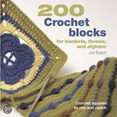 200 Crochet Blocks for Blankets Throw Af
