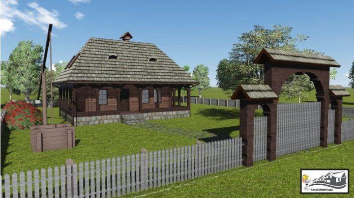 case taranesti peasant houses 3