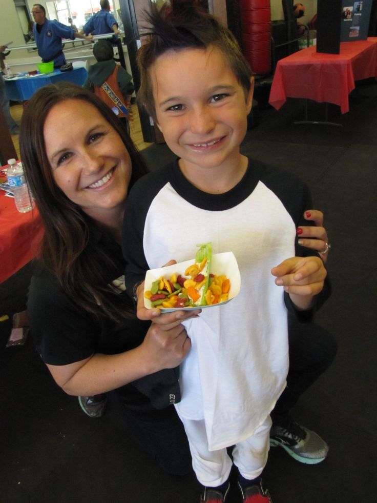 Fun with Christy of the Peterson YMCA! Healthy Kids Day