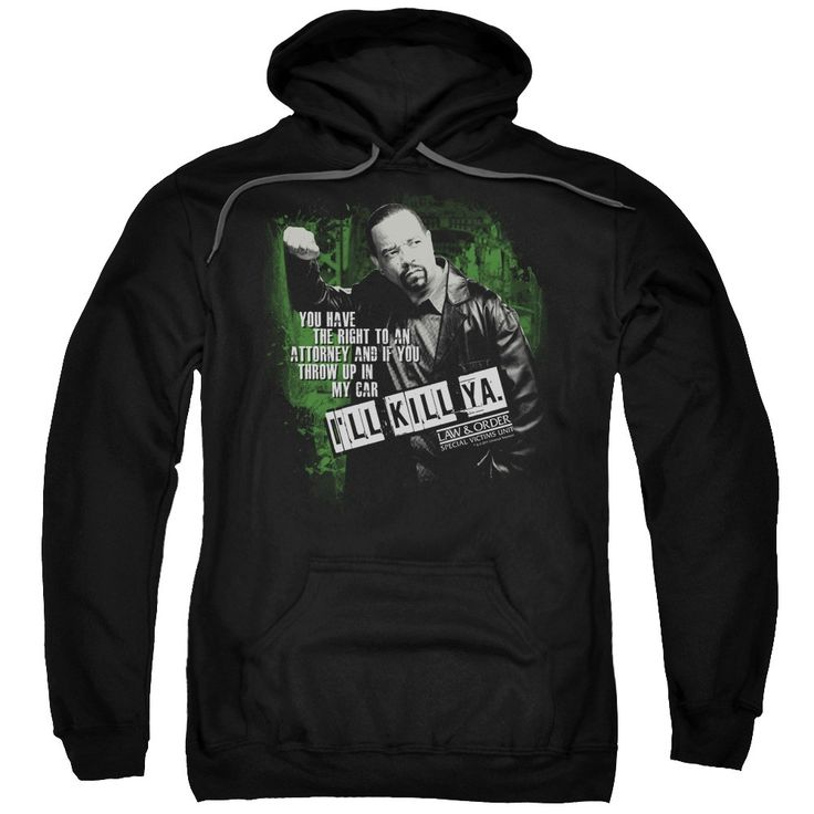 "Checkout our #LicensedGear products FREE SHIPPING + 10% OFF Coupon Code ""Official"" Law&order:svu / I'll Kill Ya-adult Pull-over Hoodie - Law&order:svu / I'll Kill Ya-adult Pull-over Hoodie - Price: $49.99. Buy now at https://officiallylicensedgear.com/lawandorder-svu-i-39-ll-kill-ya-adult-pull-over-hoodie"