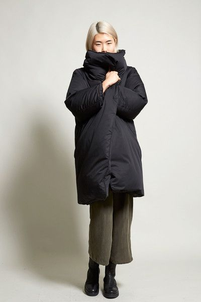 Year One Arctic Down Coat in Black