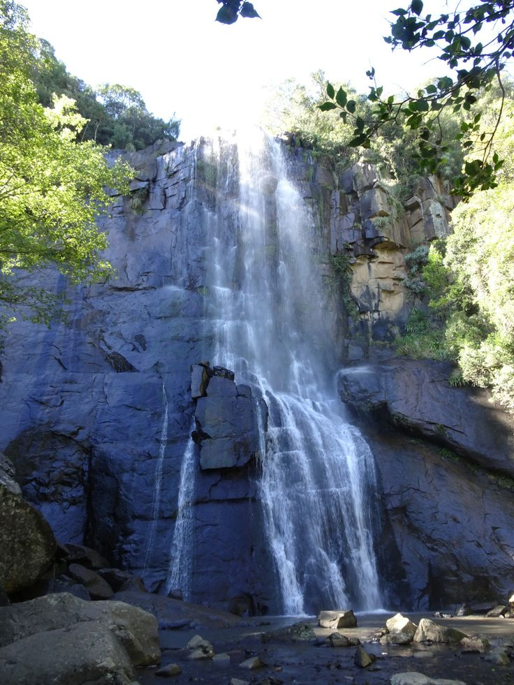 Traveling in South Africa: Madonna and Child Waterfall in Hogsback