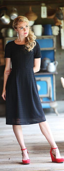 Scarlett Dress [MDF1822] : Mikarose Boutique, Reinventing Modesty