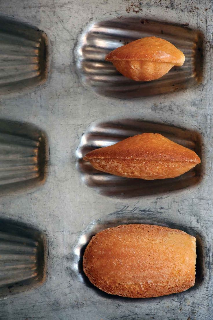 Orange Madeleines Recipe   Tender, buttery, and enhanced with a subtle citrus lilt. Just as Proust would have wanted. (No madeleine tin? No worries. These cake-like cookies are just as lovely when made in a mini-muffin pan.)