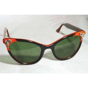 vintage accessories for Women   vintage sunglasses : womens : 1950's women's sunglasses, unmarked