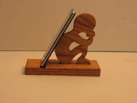 Thinking Man Cell Phone Holder