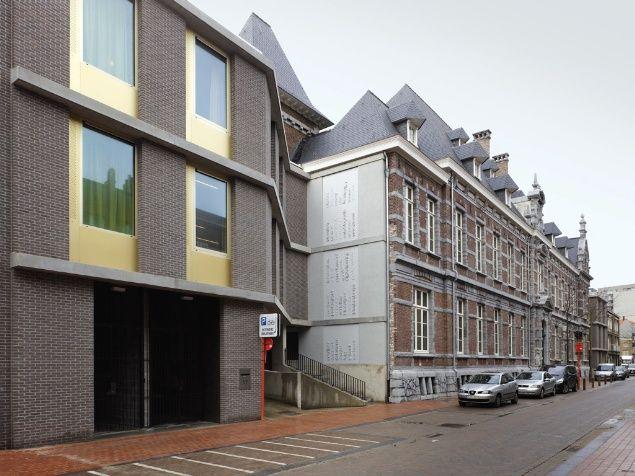 Blankenberge Public Library by Sergison Bates Architects