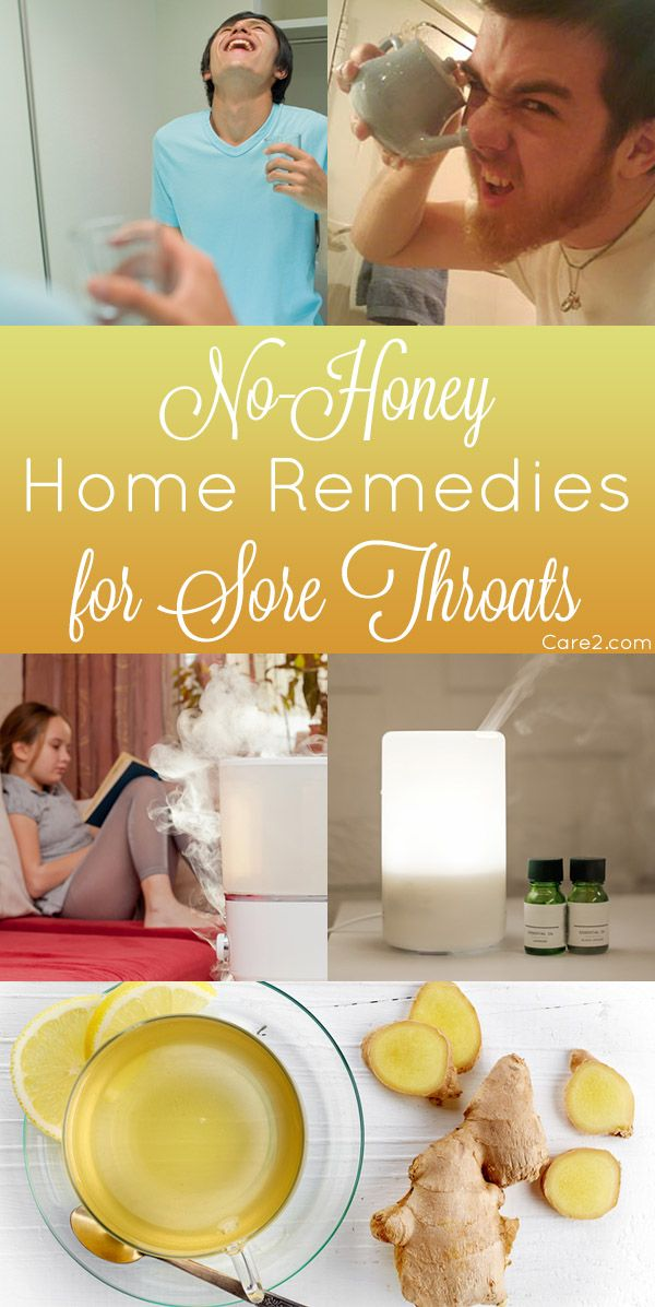 These are my favorite, effective vegan home remedies for a sore throat - no honey needed!