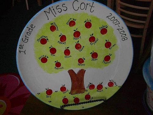 teacher apple tree by The Pottery Stop Gallery!, via Flickr